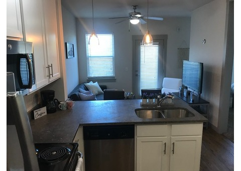 Studio Apartment Sublet in Denton TX - Fully Furnished+ Wifi/Cable/Utilities included