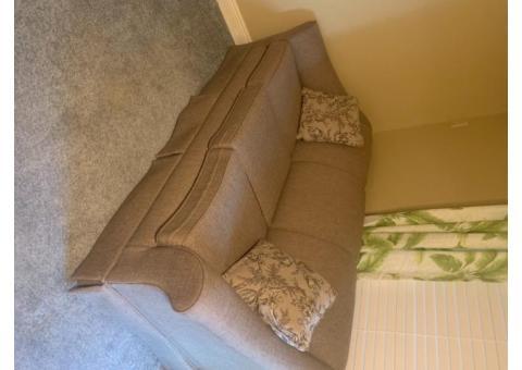 2 upholstered sofas